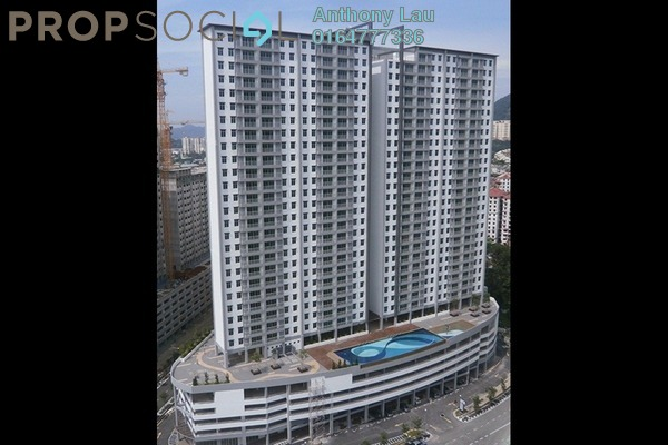 For Sale Condominium at Sierra Residences, Sungai Ara Freehold Unfurnished 3R/2B 485k