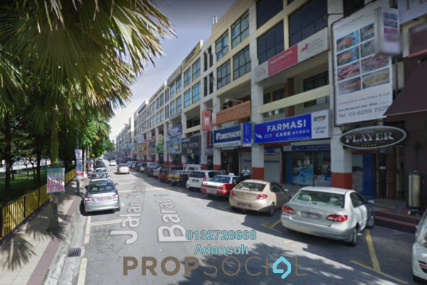 For Rent Shop at Fortune Square, Kepong Freehold Semi Furnished 0R/0B 14k