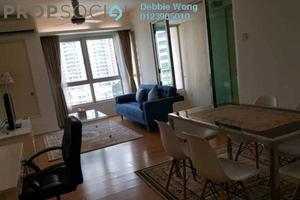 For Rent Condominium at i-Zen Kiara I, Mont Kiara Freehold Fully Furnished 2R/2B 3k