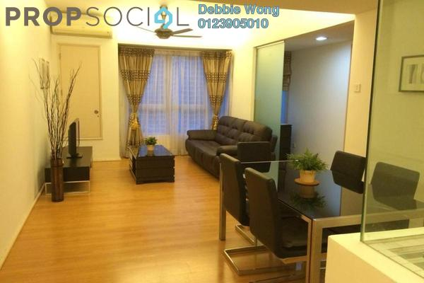 For Rent Condominium at i-Zen Kiara I, Mont Kiara Freehold Fully Furnished 2R/2B 3.3k