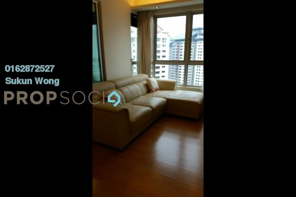 For Rent Condominium at i-Zen Kiara I, Mont Kiara Freehold Fully Furnished 2R/2B 3.1k