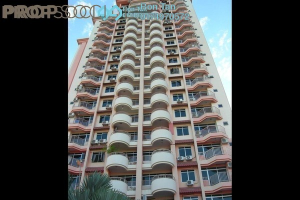 For Sale Condominium at Mutiara Place, Gelugor Freehold Fully Furnished 3R/2B 650k