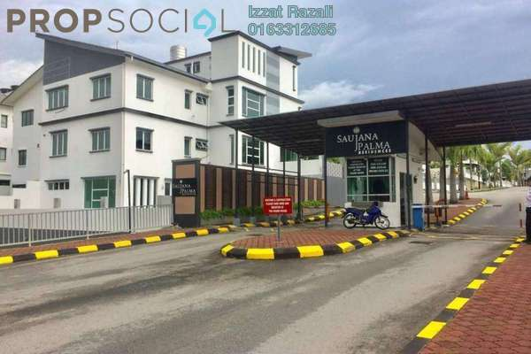 For Sale Semi-Detached at Saujana Palma Residences , Kajang Freehold Fully Furnished 7R/6B 2.09m