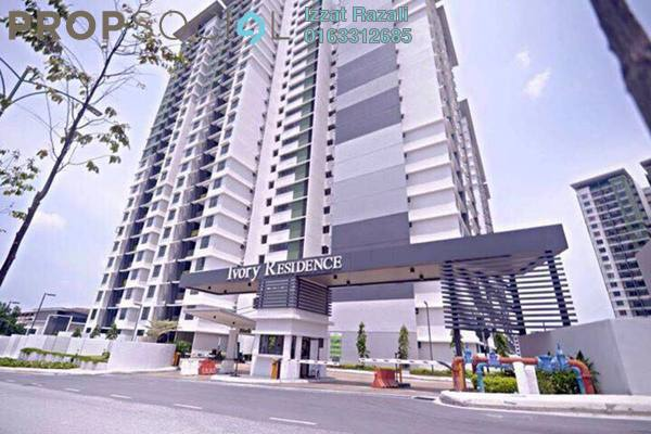 For Sale Condominium at Ivory Residence, Kajang Freehold Semi Furnished 3R/2B 420k