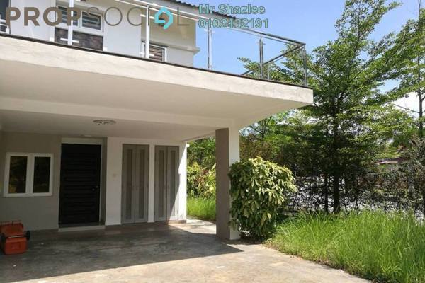 For Sale Terrace at Precinct 11, Putrajaya Freehold Semi Furnished 4R/3B 1000k