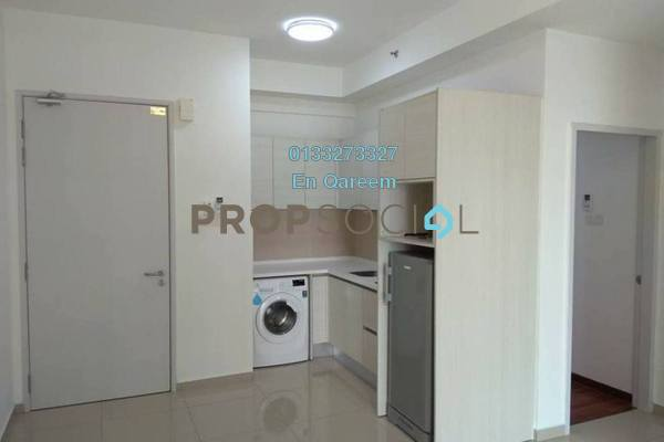 For Rent Condominium at i-City, Shah Alam Freehold Semi Furnished 2R/1B 1.5k