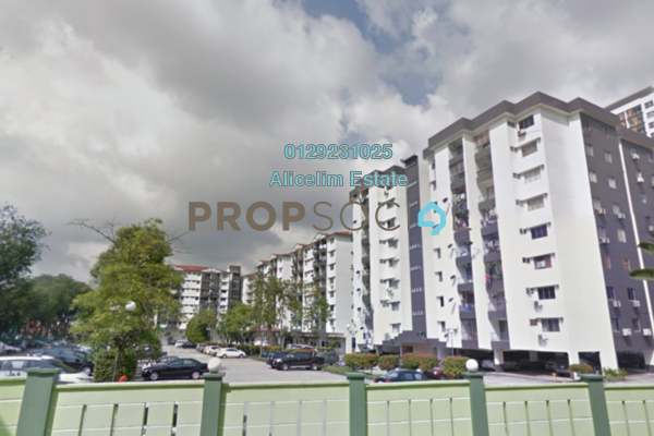 For Sale Condominium at Brem Park, Kuchai Lama Freehold Semi Furnished 3R/2B 375k