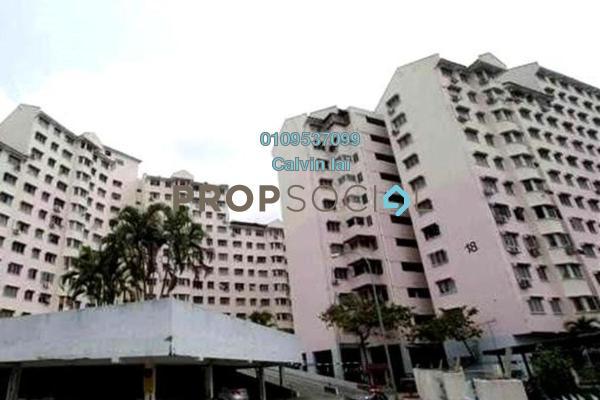 For Rent Apartment at Indah Mas Apartment, Bandar Sri Permaisuri Freehold Unfurnished 3R/1B 800translationmissing:en.pricing.unit