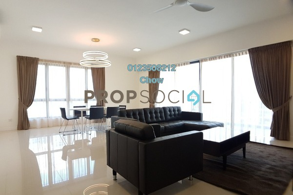 For Rent Condominium at Residensi 22, Mont Kiara Freehold Fully Furnished 3R/4B 7k