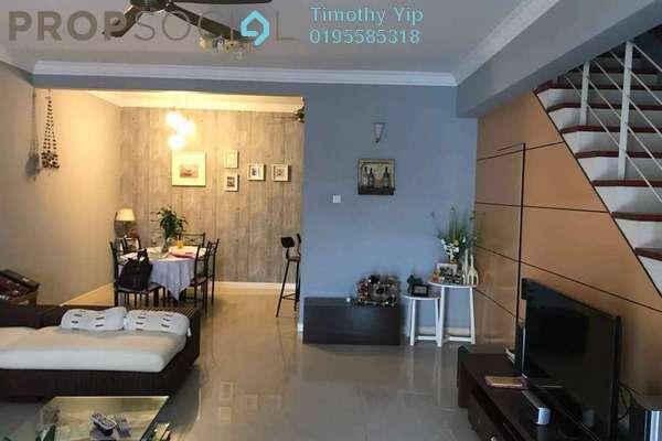 For Sale Terrace at Taman Bukit Segar Jaya 2, Cheras Leasehold Fully Furnished 5R/4B 950k