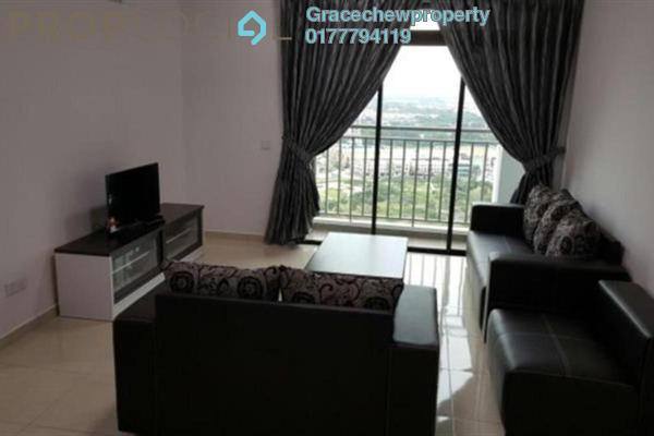 For Rent Serviced Residence at Sky Breeze, Bukit Indah Freehold Fully Furnished 3R/2B 2.58k