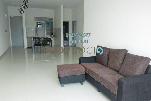 For Rent Condominium at Green Park, Seri Kembangan Freehold Semi Furnished 3R/2B 1.1k