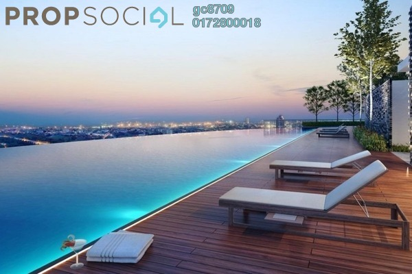 For Sale Condominium at Jade Hills, Kajang Freehold Semi Furnished 3R/2B 288k