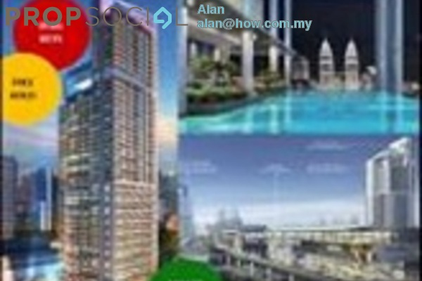 For Sale Condominium at The Colony, Chow Kit Freehold Unfurnished 2R/2B 1.08m