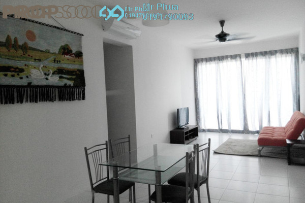 For Rent Condominium at Palma Laguna, Seberang Jaya Freehold Semi Furnished 4R/2B 1.4k