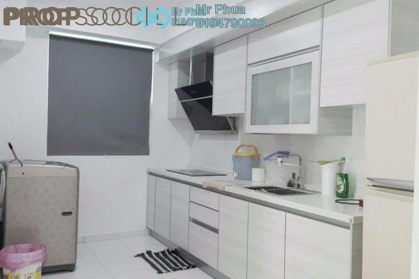 For Rent Condominium at Palma Laguna, Seberang Jaya Freehold Unfurnished 4R/2B 1.5k