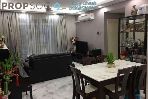 For Sale Apartment at Intan Apartment, Setiawangsa Leasehold Semi Furnished 3R/2B 420k