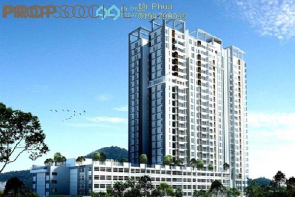 For Rent Condominium at Berjaya Condominium, Bukit Mertajam Freehold Unfurnished 3R/3B 1.2k