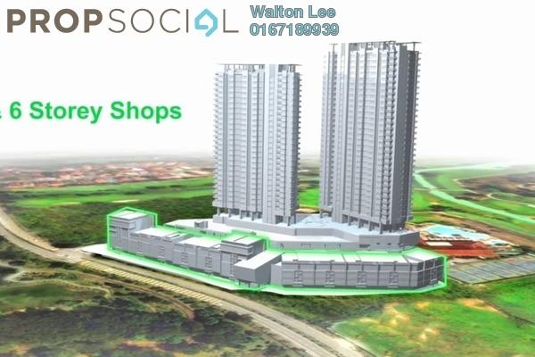 For Rent Shop at The Link 2 Residences, Bukit Jalil Freehold Unfurnished 0R/2B 3.5k