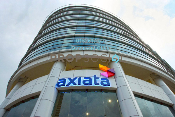 For Rent Office at Menara Axiata, KL Sentral Freehold Fully Furnished 0R/0B 2k