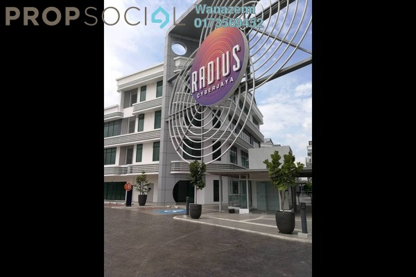 For Sale Shop at Radius Business Park, Cyberjaya Freehold Unfurnished 0R/1B 789k