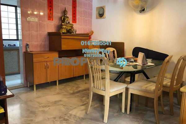 For Sale Terrace at Kepong Ulu, Kepong Freehold Semi Furnished 4R/3B 460k