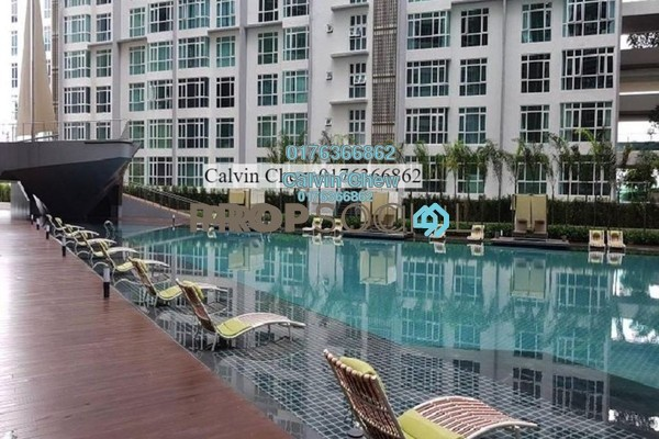 For Sale Serviced Residence at Central Residence, Sungai Besi Freehold Unfurnished 3R/2B 527k