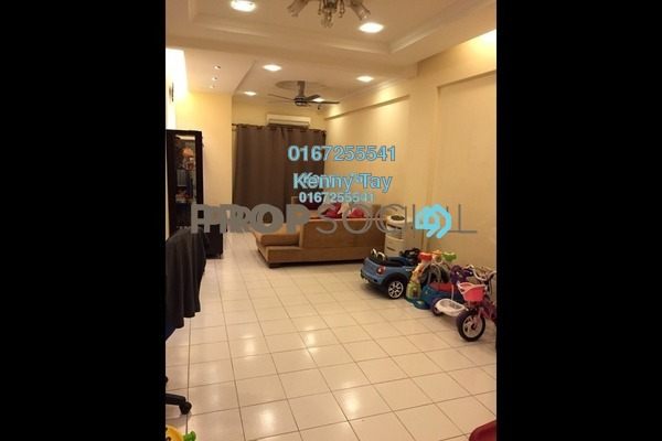 For Sale Condominium at Fortune Avenue, Kepong Freehold Semi Furnished 3R/2B 500k