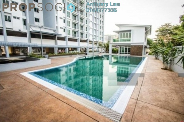 For Rent Condominium at Capri Park, Butterworth Freehold Unfurnished 3R/2B 1.3k