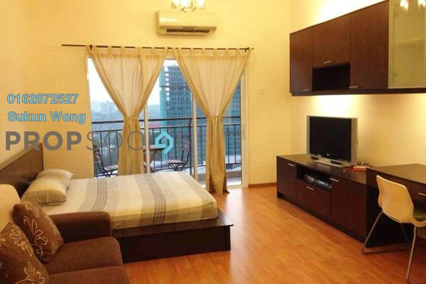 For Rent Condominium at Waldorf Tower, Sri Hartamas Freehold Fully Furnished 1R/1B 1.9k