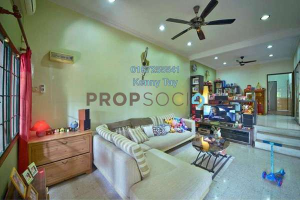 For Sale Terrace at Taman Sri Bintang, Kepong Freehold Semi Furnished 3R/2B 710k
