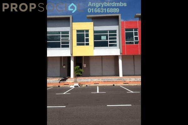 For Rent Shop at Taman Jaya Kelemak, Alor Gajah Freehold Unfurnished 0R/0B 2.2k