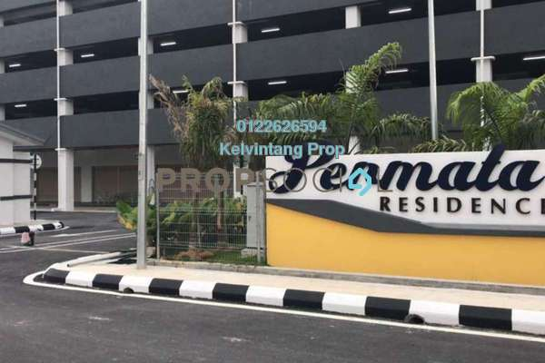 For Rent Condominium at Permata Residence, Bandar Sungai Long Freehold Unfurnished 3R/2B 1k