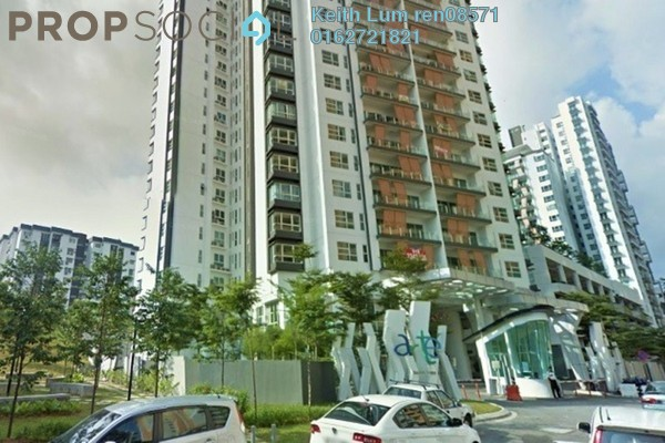 For Rent Condominium at Arte KL, Kuchai Lama Freehold Unfurnished 3R/2B 2.2k