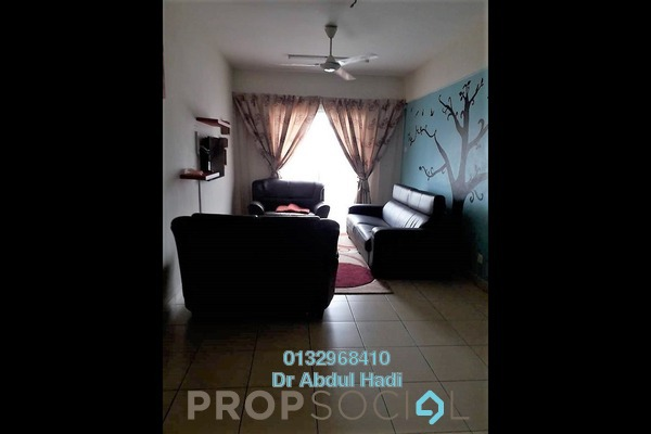For Sale Condominium at Fortune Park, Seri Kembangan Freehold Unfurnished 3R/2B 420k