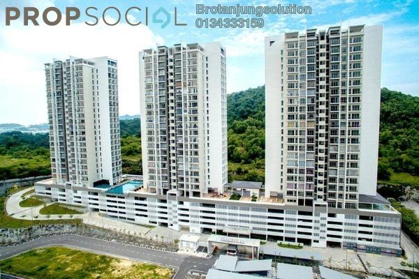 For Rent Condominium at Teluk Kumbar Heights, Teluk Kumbar Freehold Unfurnished 3R/2B 1.2千