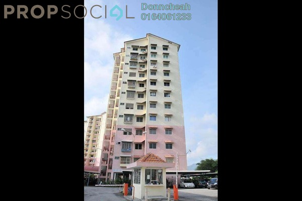 For Rent Apartment at Menara Kuda Lari, Georgetown Freehold Semi Furnished 3R/2B 1.2k