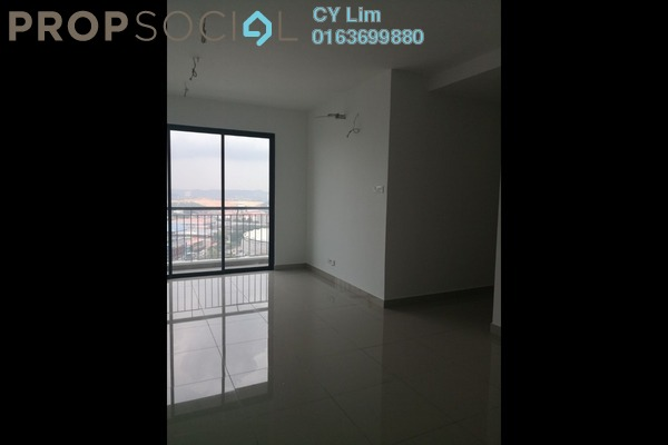 For Rent Condominium at Parkhill Residence, Bukit Jalil Freehold Unfurnished 3R/2B 1.4k