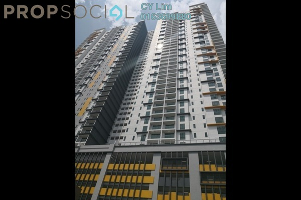 For Sale Condominium at Parkhill Residence, Bukit Jalil Freehold Unfurnished 3R/2B 705k