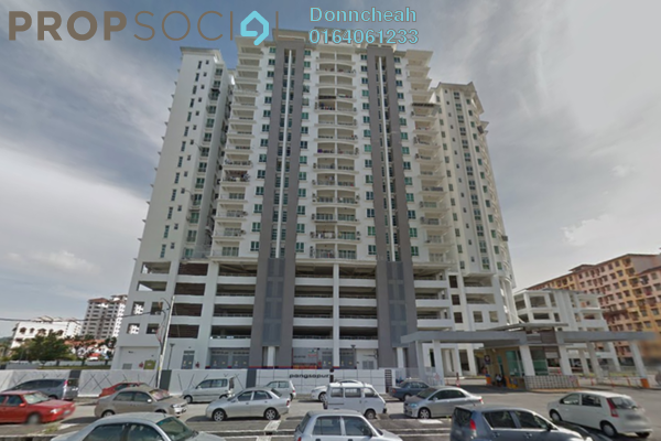 For Rent Condominium at Idaman Iris, Sungai Ara Freehold Fully Furnished 3R/2B 1k