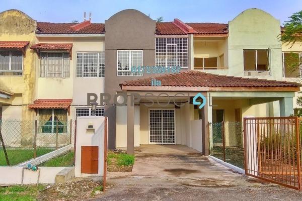For Sale Terrace at Bandar Tasik Puteri, Rawang Freehold Semi Furnished 4R/3B 340k