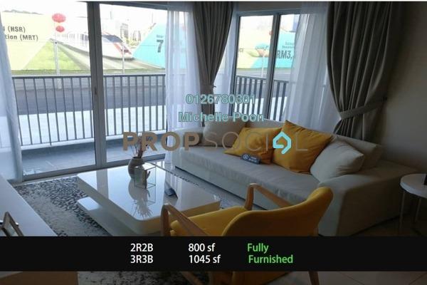 For Sale Condominium at Taman Sungai Besi, Sungai Besi Freehold Fully Furnished 2R/2B 402k