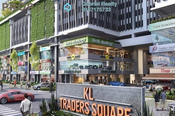 For Rent Condominium at KL Traders Square, Kuala Lumpur Freehold Unfurnished 4R/2B 1.8千