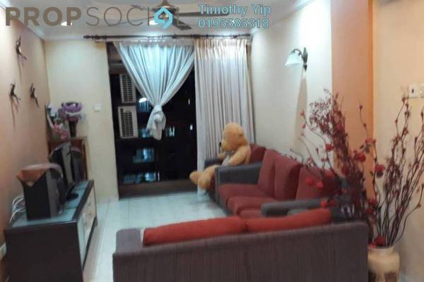 For Sale Condominium at Shamelin Bestari, Cheras Leasehold Fully Furnished 3R/2B 446k