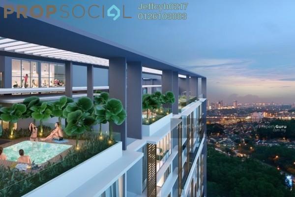 For Sale Condominium at Bennington Residences @ SkyArena, Setapak Freehold Semi Furnished 4R/2B 723k