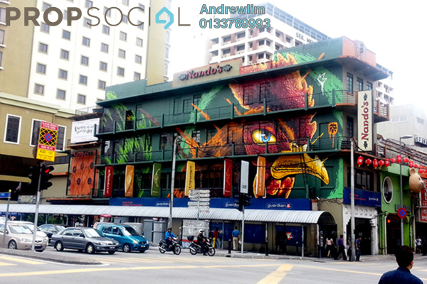 For Sale Shop at Petaling Street, Pudu Freehold Semi Furnished 0R/8B 5.8m