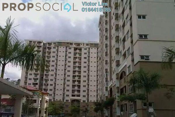 For Sale Condominium at Villa Pavilion, Seri Kembangan Freehold Unfurnished 3R/2B 380k