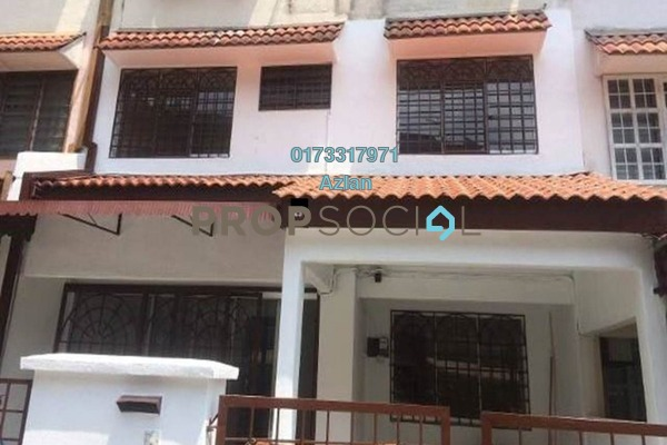 For Rent Townhouse at Taman Midah, Cheras Freehold Semi Furnished 4R/2B 1.5k