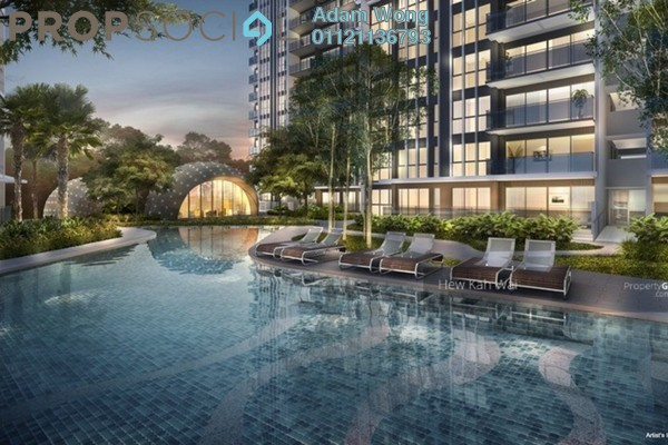 For Sale Condominium at Green Beverly Hills, Putra Nilai Freehold Semi Furnished 2R/2B 388k