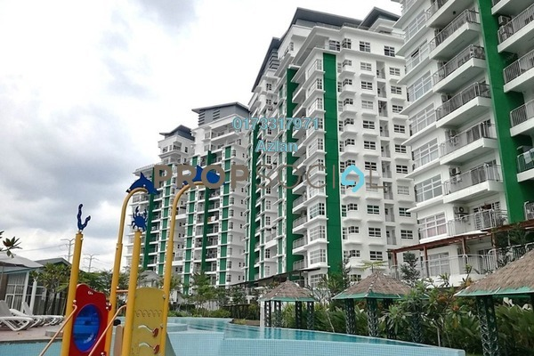 For Sale Condominium at D'Pines, Pandan Indah Freehold Unfurnished 3R/2B 590k